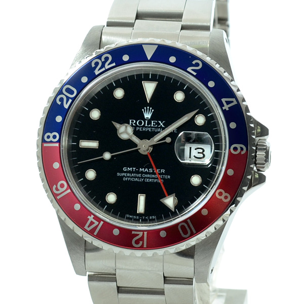 GMTマスター  16700BL/RD