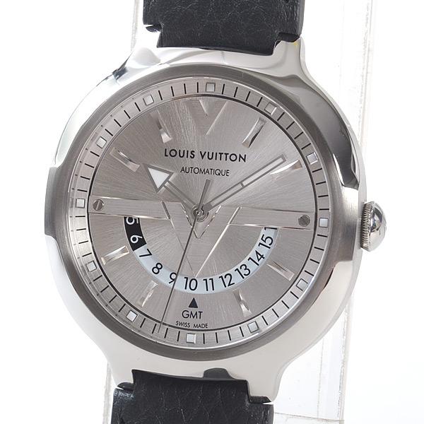 ヴォヤジャーオトマティックGMTオールシルバー  Q7D340