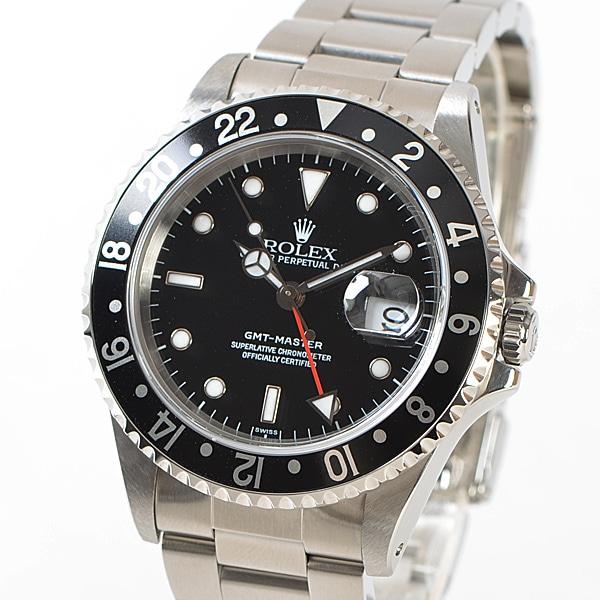 GMTマスター  16700BK/BK