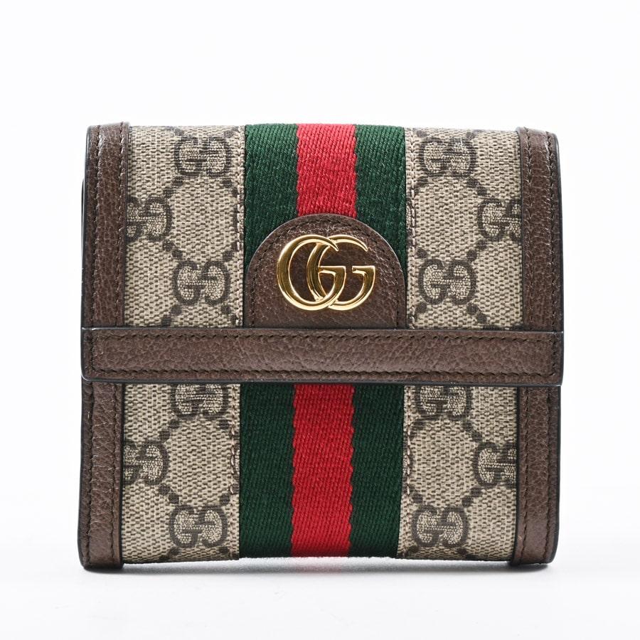 グッチ Wホック式財布