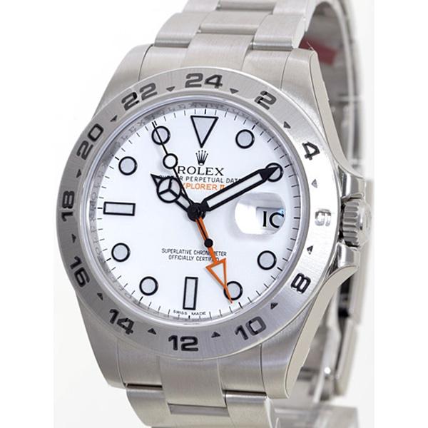 the best attitude 7e856 c9d84 ロレックス ROLEX エクスプローラー2 216570 メンズ腕時計 新品 ...