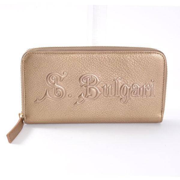 ブルガリ BVLGARI ラウンドファスナー式財布 32562 中古A品