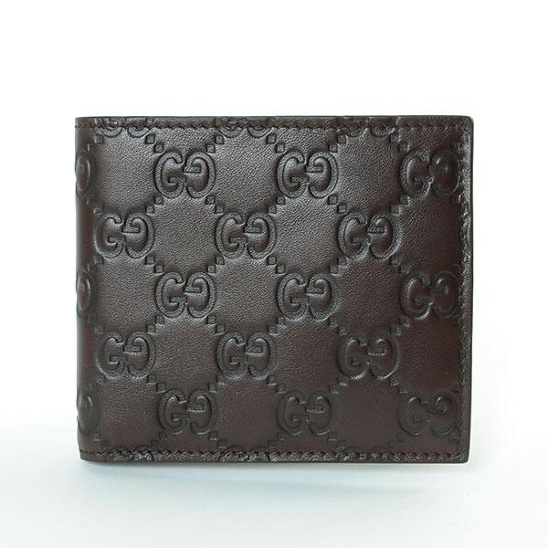 グッチ GUCCI 2つ折り式財布 146223 中古A品