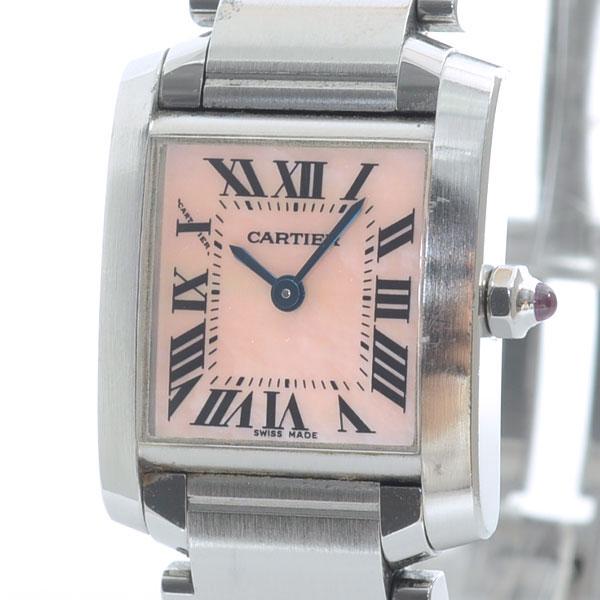 カルティエ Cartier タンクフランセーズ W51028Q3 中古A品