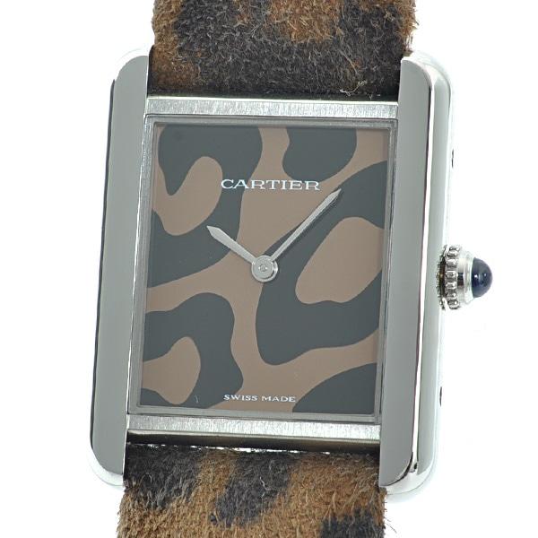 カルティエ Cartier タンクソロパンテールモチーフSM W5200015 中古B品