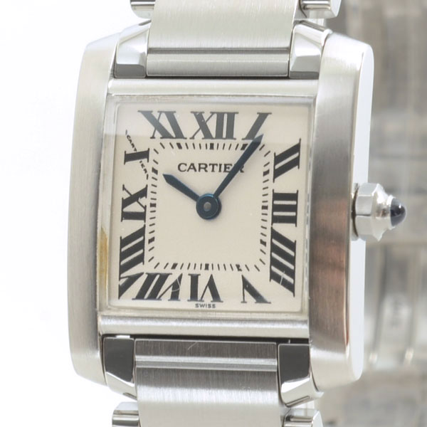 カルティエ Cartier タンクフランセーズSM W51008Q3 中古B品