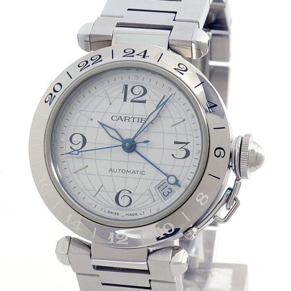 カルティエ Cartier パシャC GMT W31078M7 中古A品