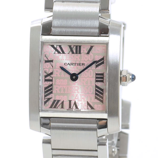 カルティエ Cartier タンクフランセーズ W51035Q3 中古A品