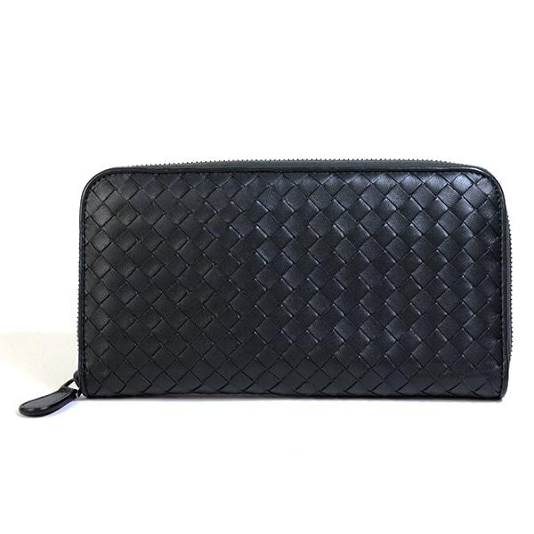 ボッテガヴェネタ BOTTEGA VENETA ラウンドファスナー式財布 302357 中古a品