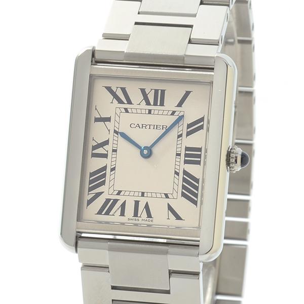 カルティエ Cartier タンクソロLM W5200014 中古A品