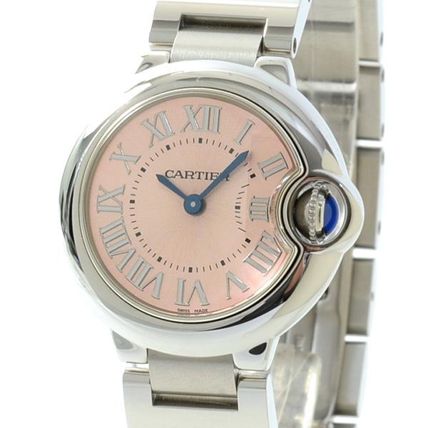 カルティエ Cartier バロンブルーSM W6920038 中古A品