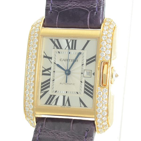 カルティエ Cartier タンクアングレーズ LM WT100017 中古A品