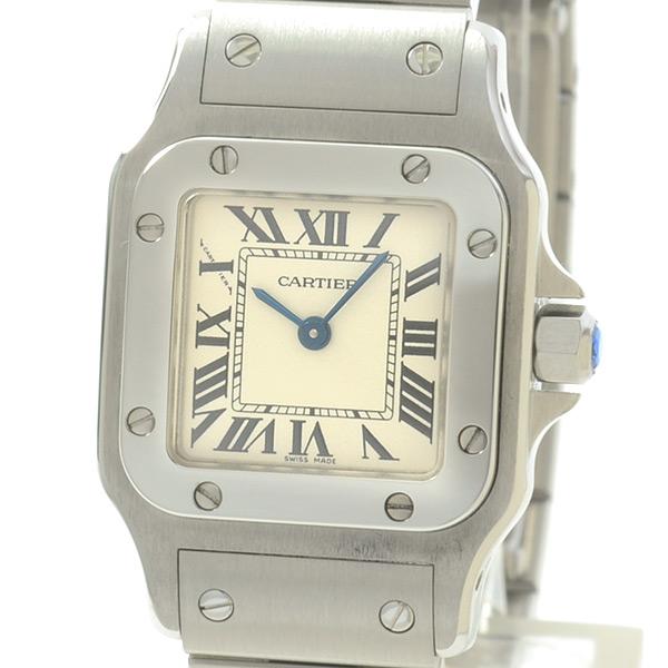 カルティエ Cartier サントスガルベ W20017D6 中古A品