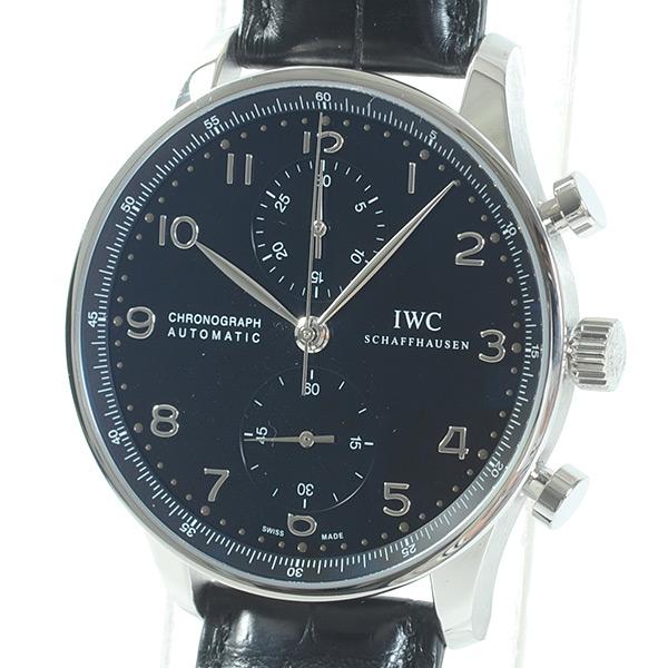 アイダブリュシー IWC ポルトギーゼ・クロノグラフ IW371447 中古A品