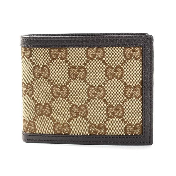 グッチ GUCCI 2つ折り式財布 260987 未使用品