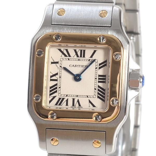 カルティエ Cartier サントスガルベ W20012C4 中古B品