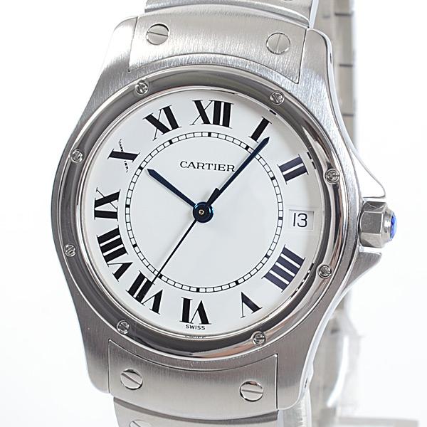 カルティエ Cartier クーガーMM W20027K1 中古A品