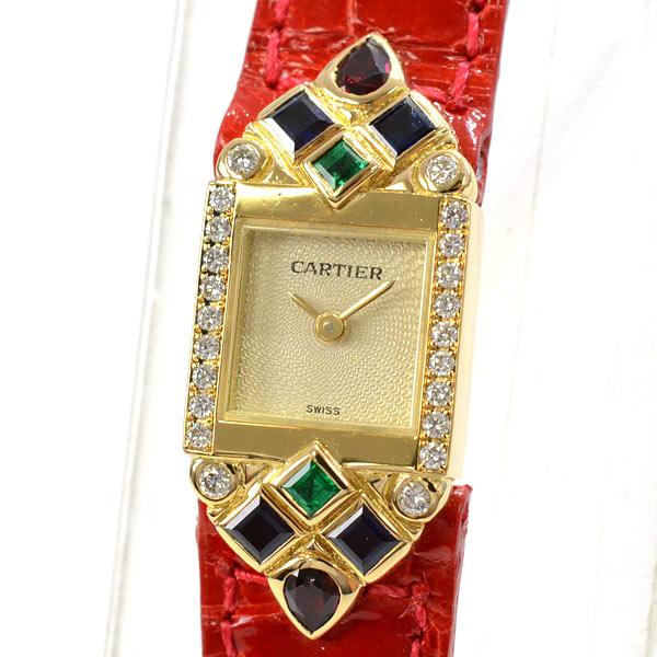 カルティエ Cartier ミニタンク 中古A品