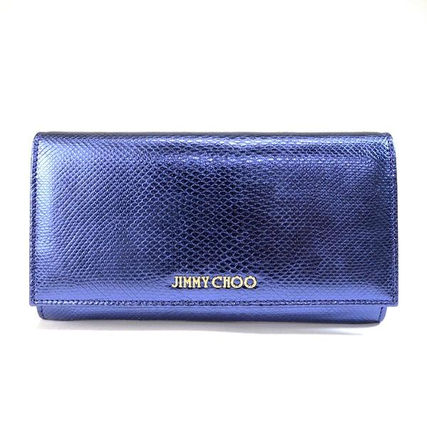 ジミーチュー JIMMY CHOO 2つ折り式財布 中古A品