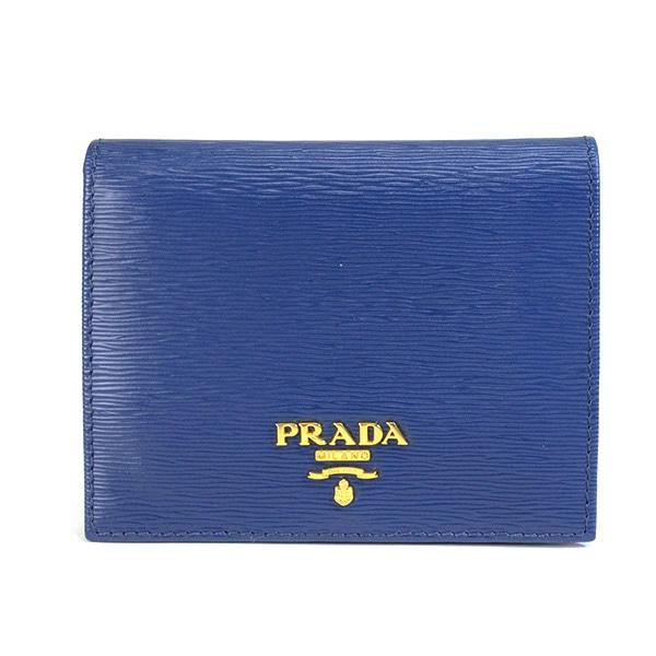 プラダ PRADA 2つ折り式財布 中古a品