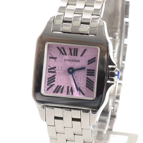 カルティエ Cartier サントス ドゥモワゼルSM W2510002 中古B品