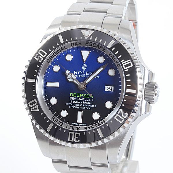 ロレックス ROLEX シードゥエラー ディープシー ディーブルー 116660 D-BLUE 未使用品