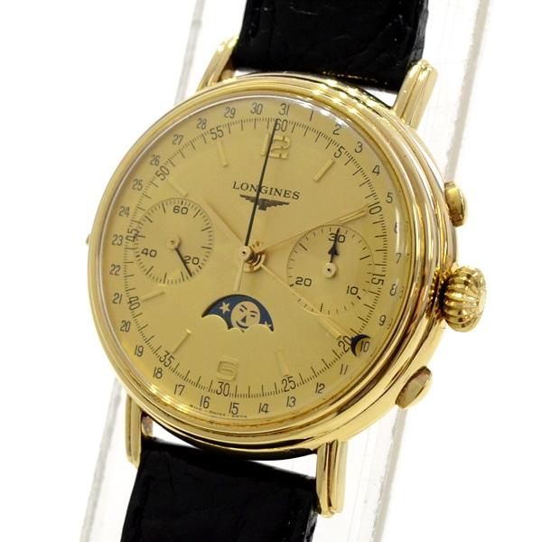 ロンジン LONGINES メンズ腕時計クロノグラフ 中古A品
