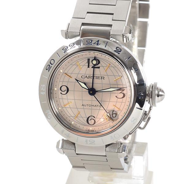 カルティエ Cartier パシャC GMT W31029M7 中古A品