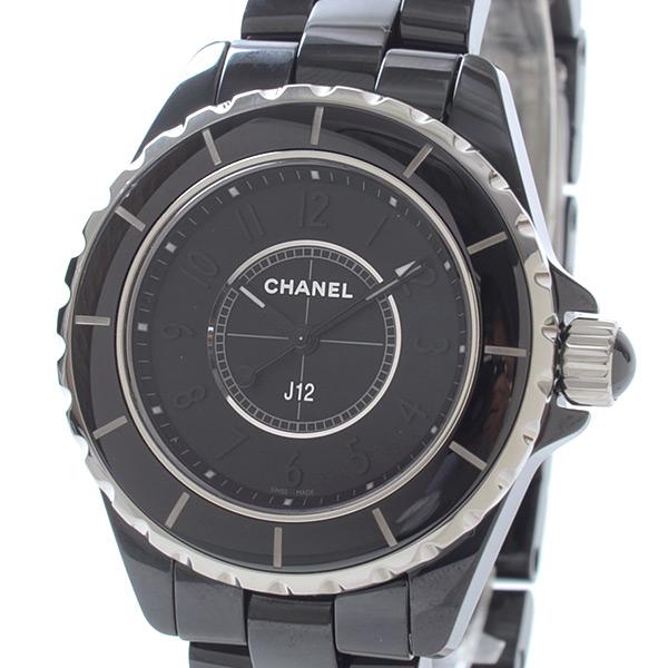シャネル CHANEL J12 インテンスブラック 33mm H3828 未使用品