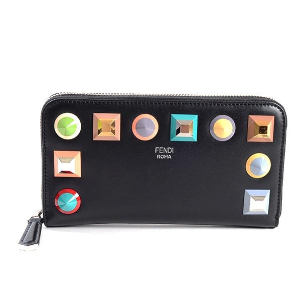 フェンディ FENDI ラウンドファスナー式財布 8M0299-SRO 未使用品