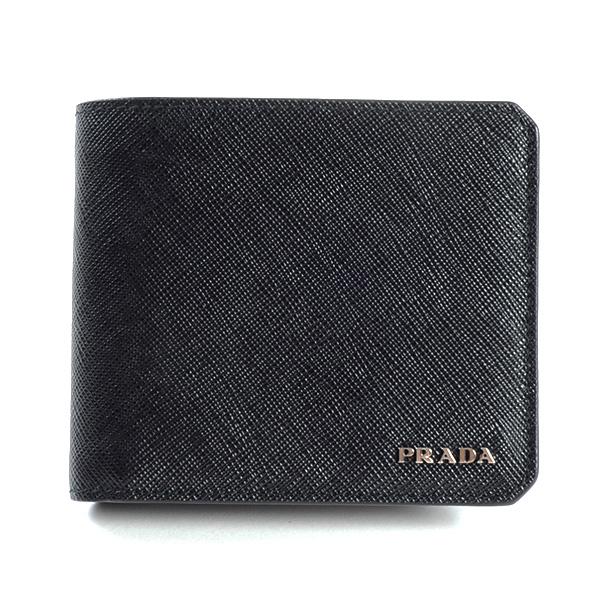 プラダ PRADA 2つ折り式財布 2MO738 未使用品