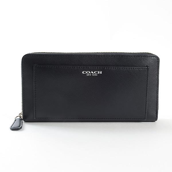 コーチ COACH ラウンドファスナー式財布 未使用品