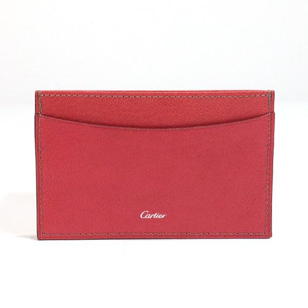 カルティエ Cartier カードケース 中古A品