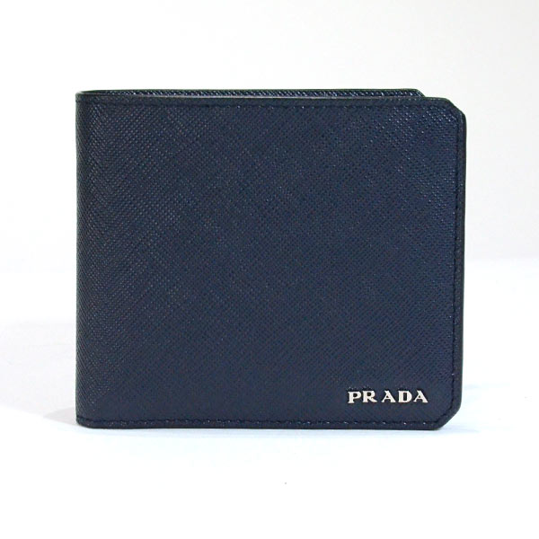 プラダ PRADA 2つ折り式財布 2M0738 中古A品