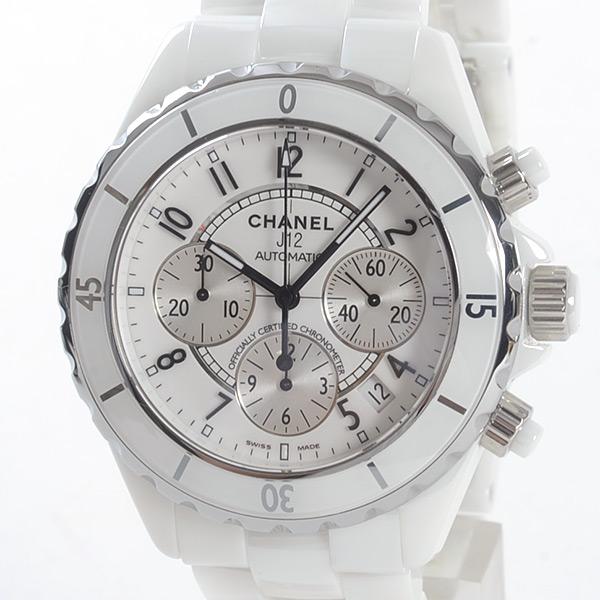 シャネル CHANEL J12 クロノグラフ 41mm H1007 中古A品