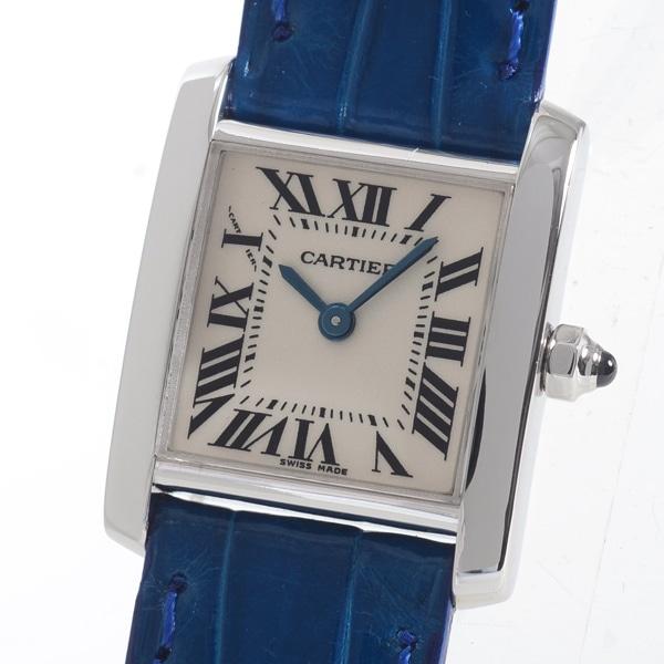 カルティエ Cartier タンクフランセーズ W5001256 中古A品