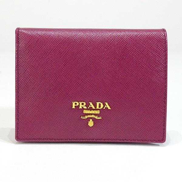 プラダ PRADA 2つ折り式財布 1M0204 中古A品
