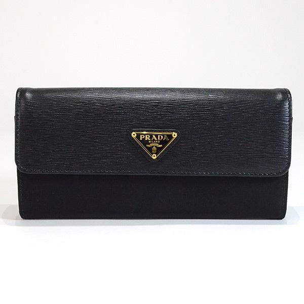 プラダ PRADA 2つ折式長財布 1MH037 未使用品