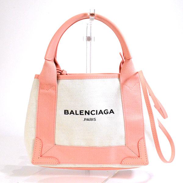バレンシアガ BALENCIAGA ネイビーカバスXS 390346 未使用品