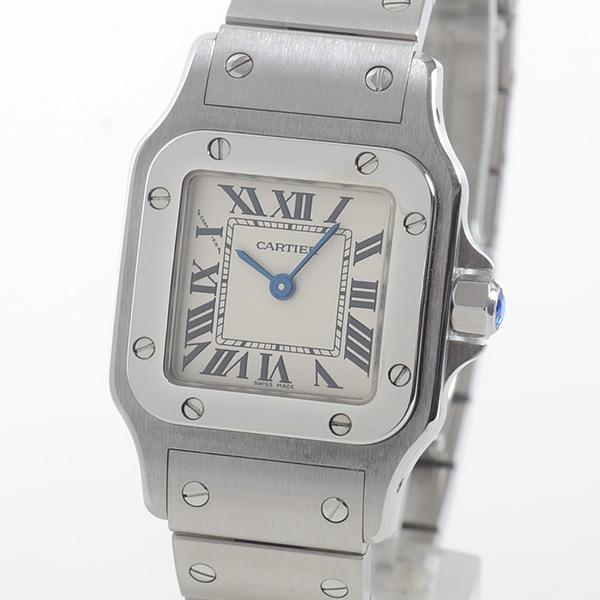 カルティエ Cartier サントスガルベSM W20017D6 中古A品