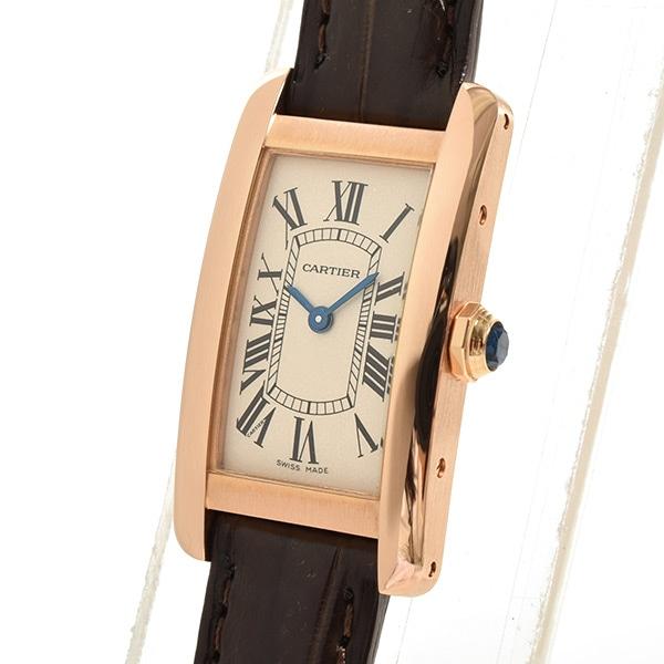 カルティエ Cartier タンクアメリカンSM W2607456 中古A品