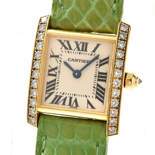 カルティエ Cartier レディースウォッチ WZ100131 中古A品