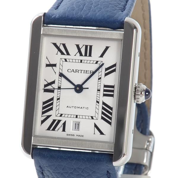 カルティエ Cartier タンクソロXL WSTA0029 中古A品