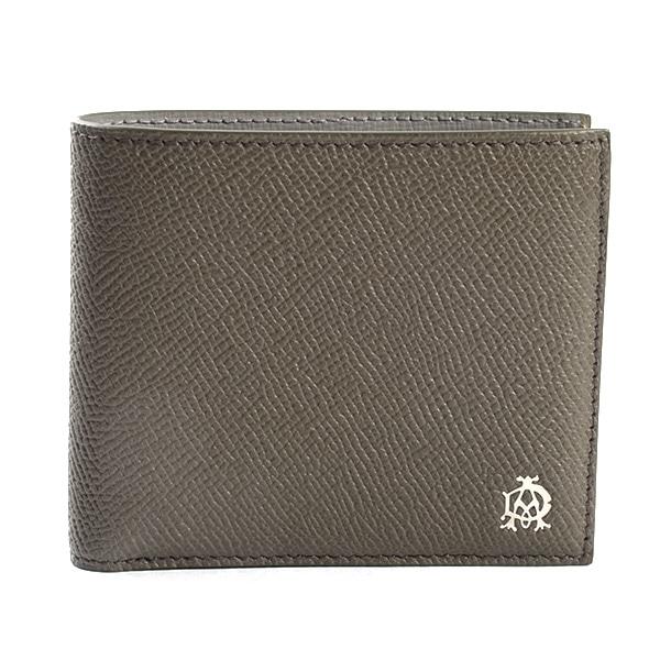 ダンヒル dunhill 2つ折り式財布 未使用品