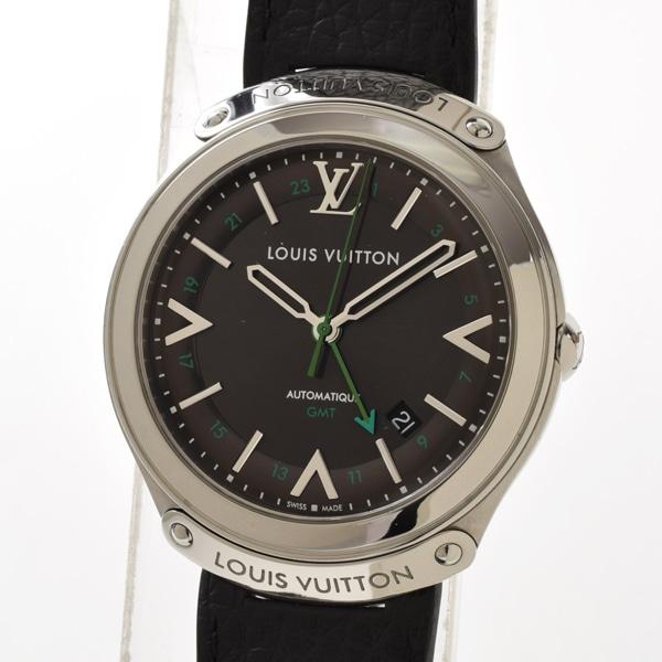 ルイヴィトン LOUISVUITTON LVフィフティ ファイブ GMT Q6D301 中古A品