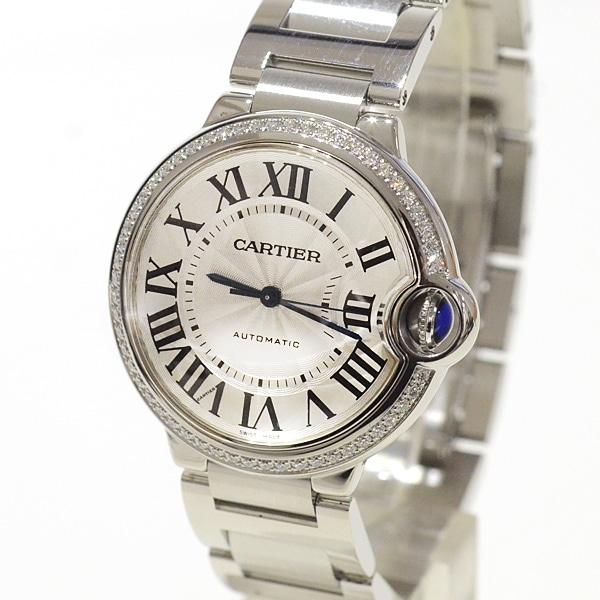 カルティエ Cartier バロンブルーMM W4BB0017 中古A品
