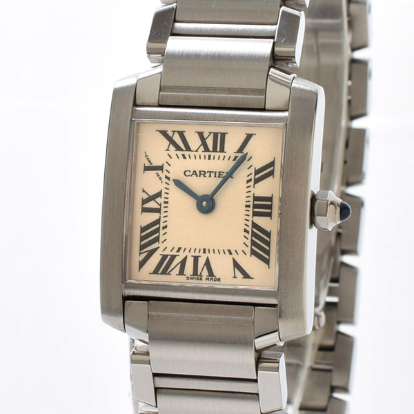 カルティエ Cartier タンクフランセーズ W5100803 中古A品