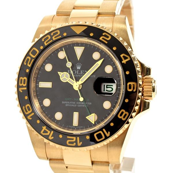 ロレックス ROLEX GMTマスター2 116718LN 中古A品