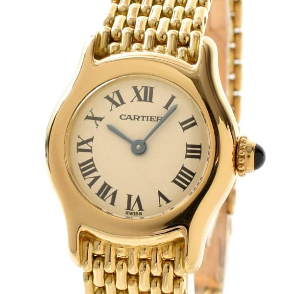 カルティエ Cartier レディース腕時計 中古A品