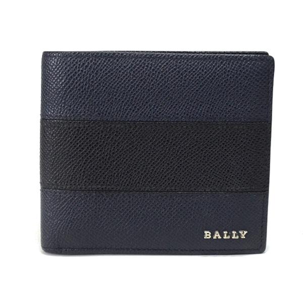 バリー BALLY 2つ折り式札入れ 未使用品